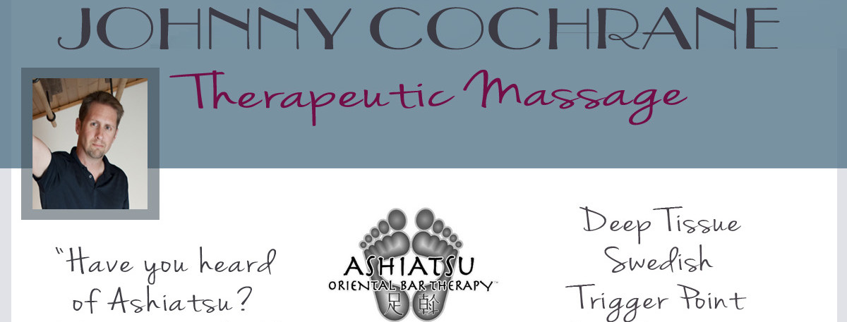 Massage Kalispell, Mt. with Johnny Cochrane, LMT